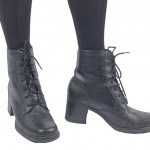 Vintage 90's Lace Up Grunge Boots