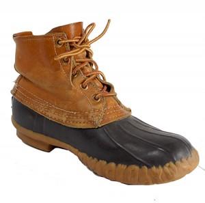 Vintage 80's L.L. Bean Maine Hunting Shoe Bean Boots (Mens)