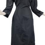 Vintage 50's Shimmery Black Hourglass Dress
